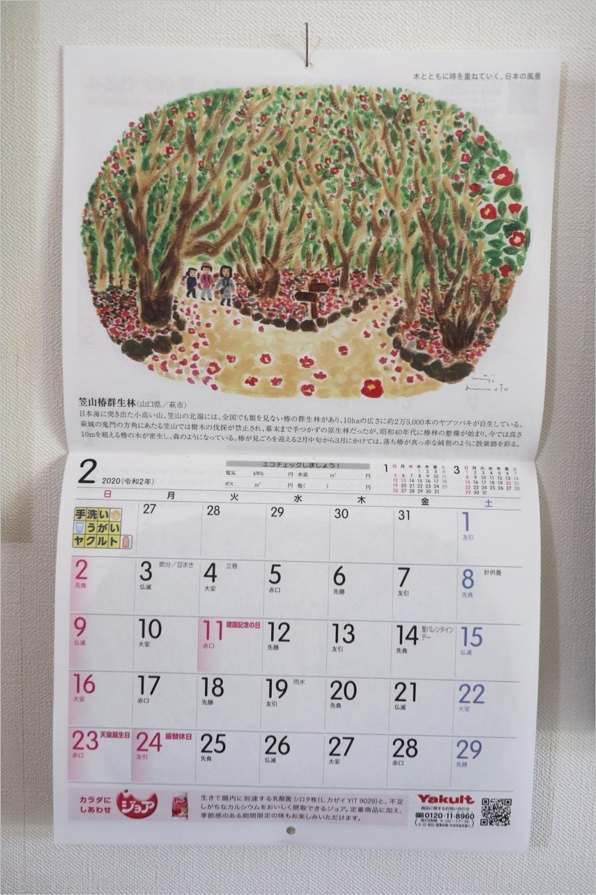 ヤクルトカレンダー2020年2月_c0202706_16224298.jpg