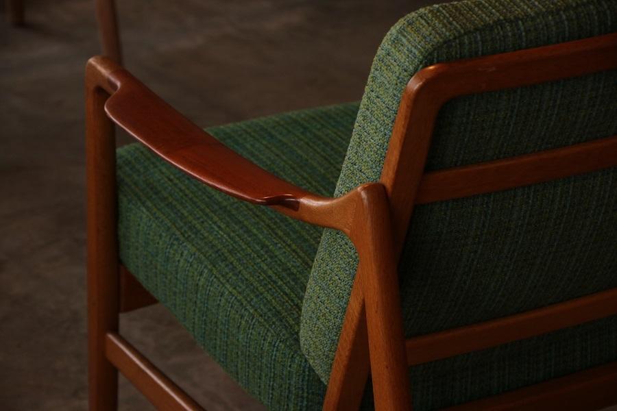 『Tove&Edvard Kindt-Larsen Easy Chair(Teak&Oak)』_c0211307_20595856.jpg