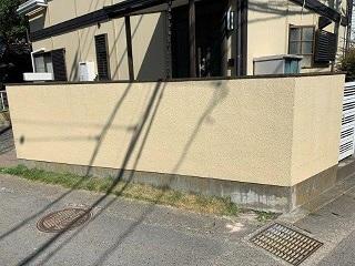 危険ブロック塀等対策リフォーム_d0358411_16303492.jpg