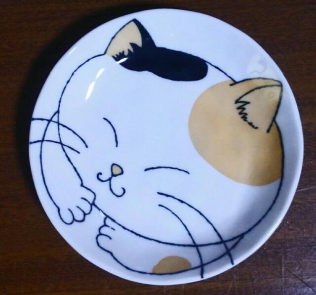 『vol.3970 猫の絵皿は・・・』_e0040714_18430951.jpg