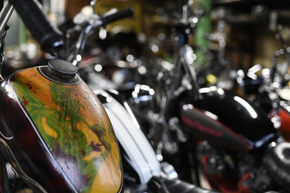 雨なのでバイク出せず..._a0159215_23090577.jpg