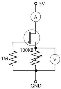 J-FET で遊ぼう(1):ID - VGS を測る_d0106518_16290089.jpg