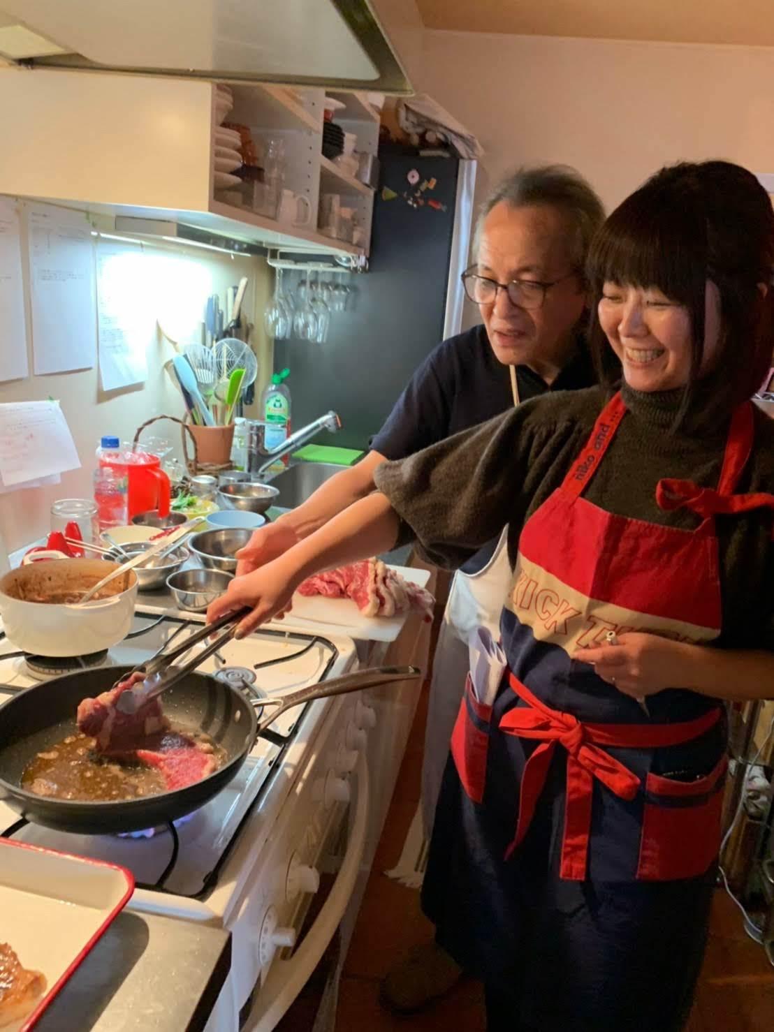 レストラン流、美味しいステーキの焼き方を習いました【サン・ファソン 本多シェフに習うフレンチ】_b0345136_20021462.jpg