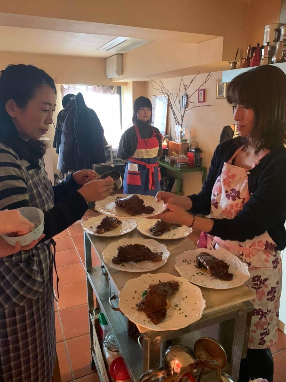 レストラン流、美味しいステーキの焼き方を習いました【サン・ファソン 本多シェフに習うフレンチ】_b0345136_20352410.jpg