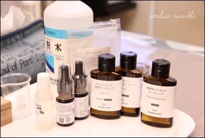 レッスン風景♪ シンプルな化粧水&美肌オイル作り _a0310054_09124056.jpg