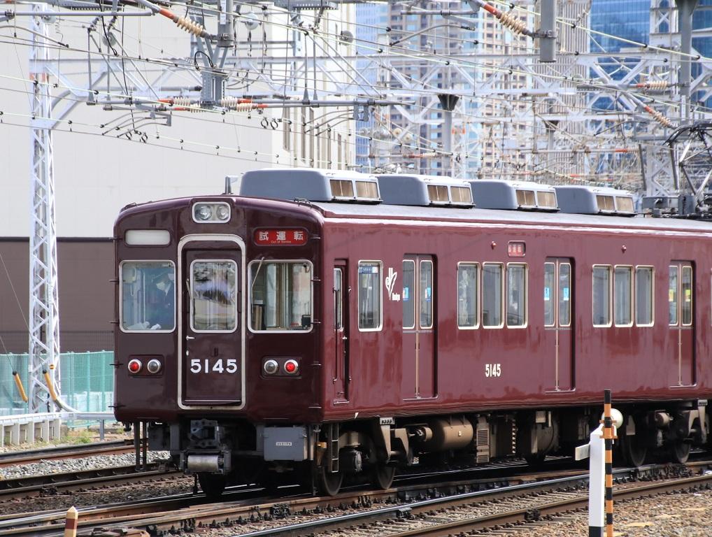 阪急5100系 5104F 試運転幕_d0202264_15193610.jpg
