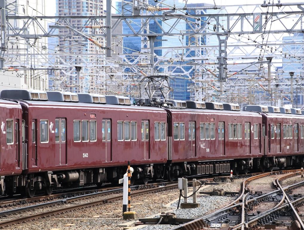 阪急5100系 5104F 試運転幕_d0202264_1519996.jpg