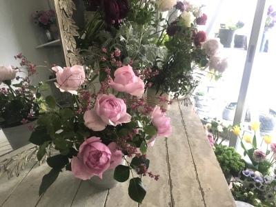 オークリーフ花の教室(藤田さんと川北さんの作品)_f0049672_10082648.jpeg