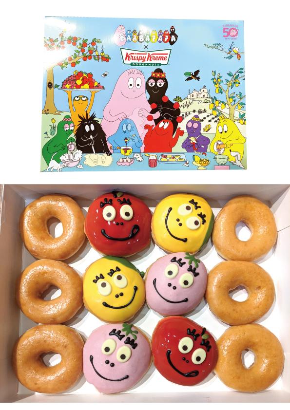 【期間限定】クリスピー・クリーム・ドーナツ『Fruity Barbapapa』【バーバパパとコラボ】_d0272182_11590928.jpg