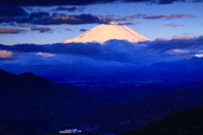 令和2年2月の富士 (30) 松田山から夜明けの富士_e0344396_21263756.jpg