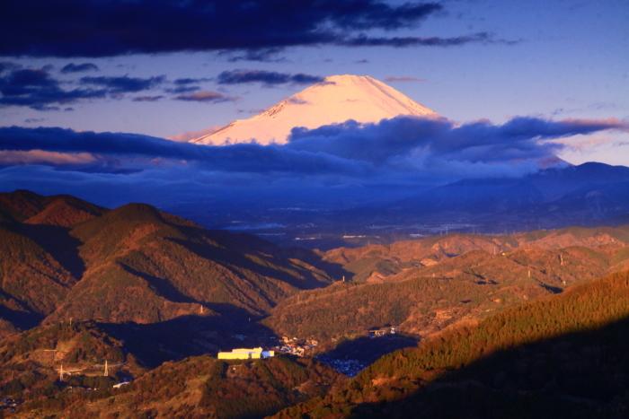 令和2年2月の富士 (30) 松田山から夜明けの富士_e0344396_21264512.jpg