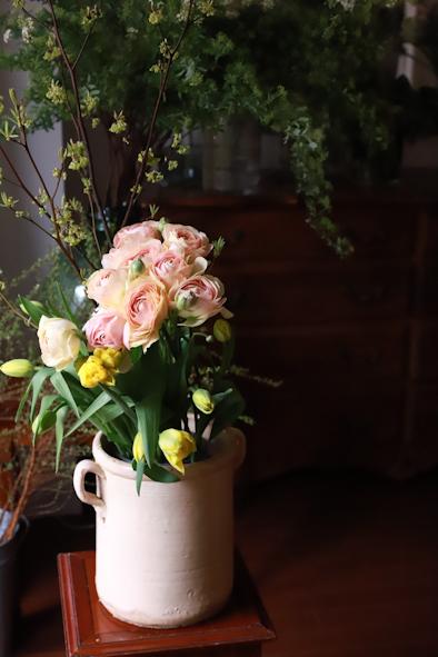春のパーソナルブーケレッスン2020 ディスプレイ編_b0208604_13060967.jpg