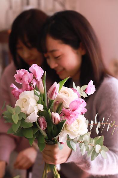 春のパーソナルブーケレッスン2020 1日目_b0208604_13334356.jpg