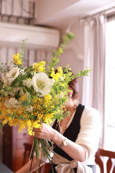 春のパーソナルブーケレッスン2020 1日目_b0208604_13580833.jpg