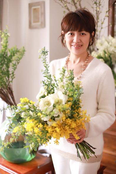 春のパーソナルブーケレッスン2020 1日目_b0208604_14015746.jpg