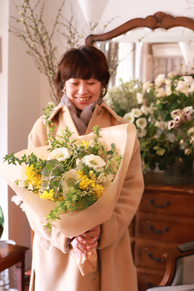 春のパーソナルブーケレッスン2020 1日目_b0208604_14041681.jpg
