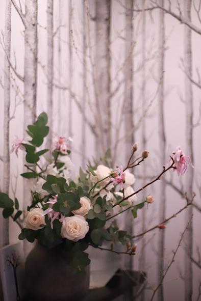 春のパーソナルブーケレッスン2020 1日目_b0208604_14071042.jpg