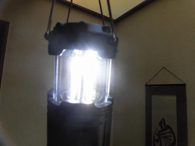 今年の役員記念品は「電池式ランタン」 元年度最後の吉原高校避難所運営委員会_f0141310_07374949.jpg