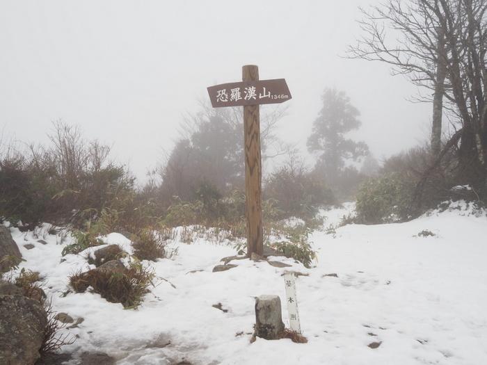 恐羅漢登山(雪山登山)_c0116915_00441993.jpg