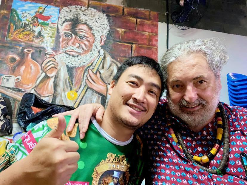 16年連続●ブラジル一線でLIVE出演~『9年連続 サンバの本場ブラジル・リオの歴史的巨匠 #MoacyrLuz と精鋭バンドと共演』#Samba #RenascençaClube_b0032617_12253200.jpg