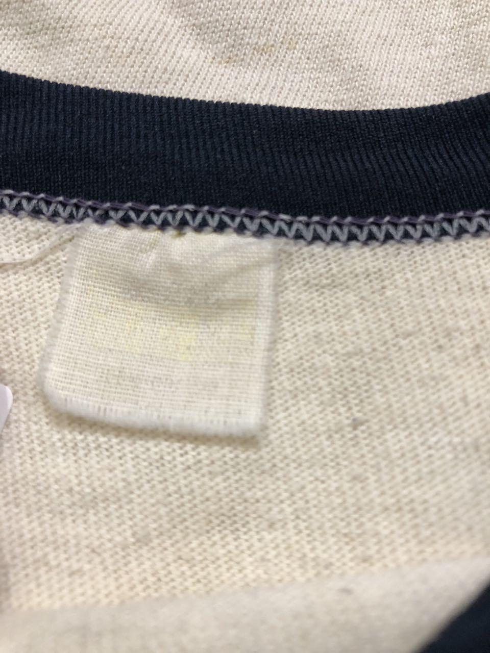 アメリカ仕入れ情報#28 3/14(土)入荷!70s all cotton 染み込みプリント BASEBALL シャツ!_c0144020_14052455.jpg