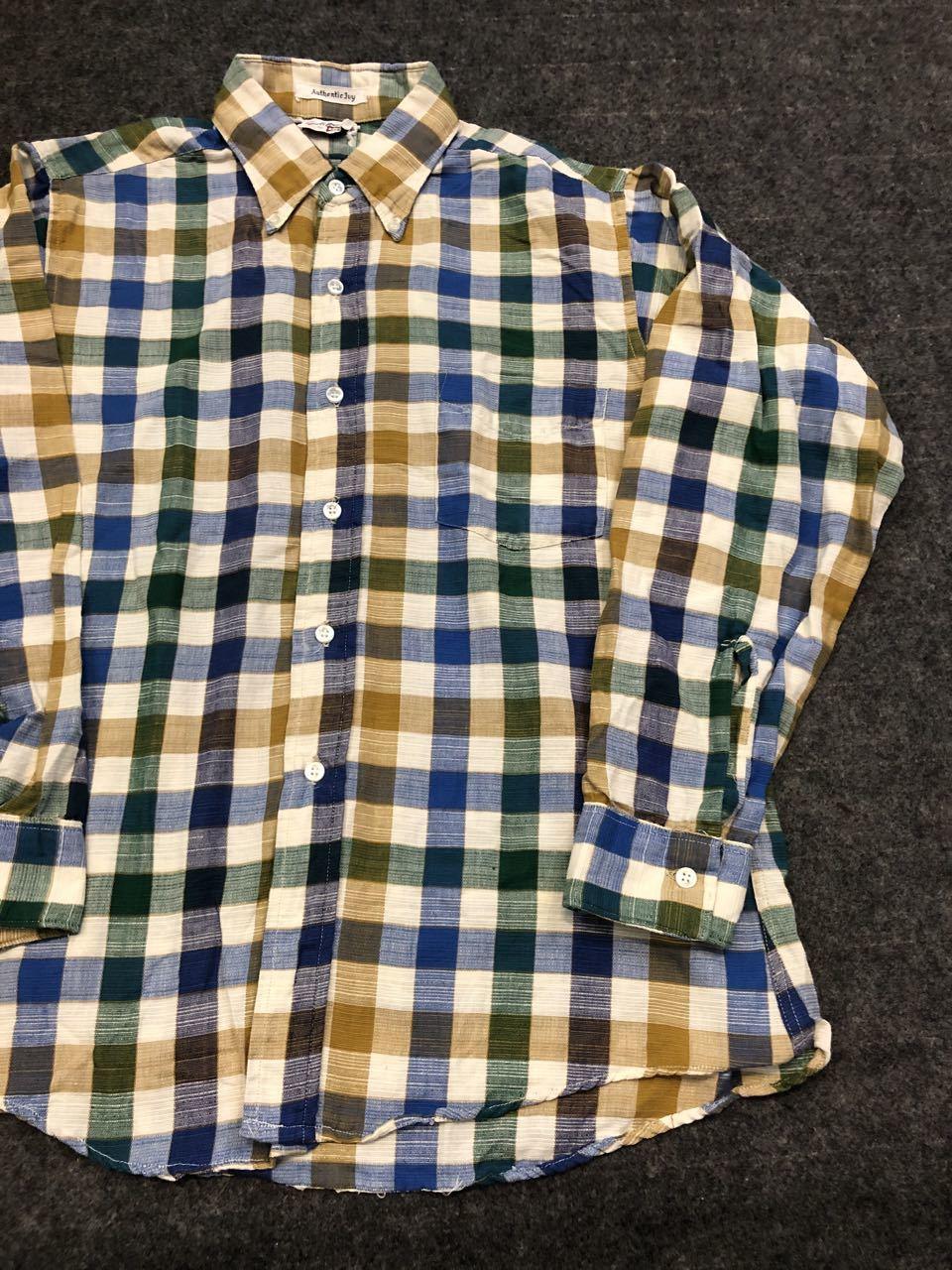 アメリカ仕入れ情報#30 3/14入荷!E&W Authentic IVY  B.D shirts!_c0144020_14132878.jpg