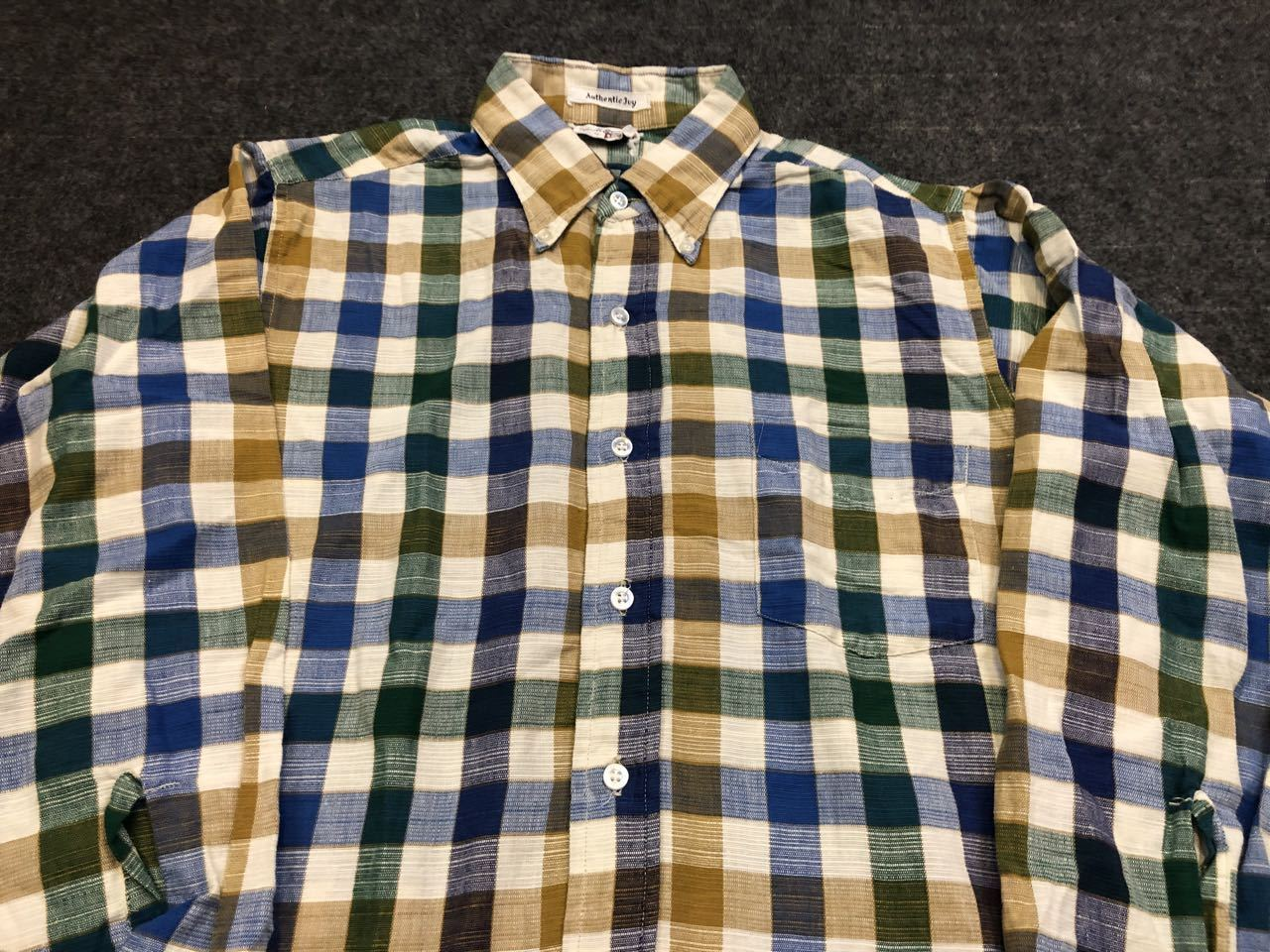 アメリカ仕入れ情報#30 3/14入荷!E&W Authentic IVY  B.D shirts!_c0144020_14133087.jpg