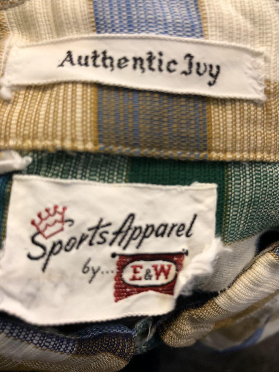 アメリカ仕入れ情報#30 3/14入荷!E&W Authentic IVY  B.D shirts!_c0144020_14133375.jpg