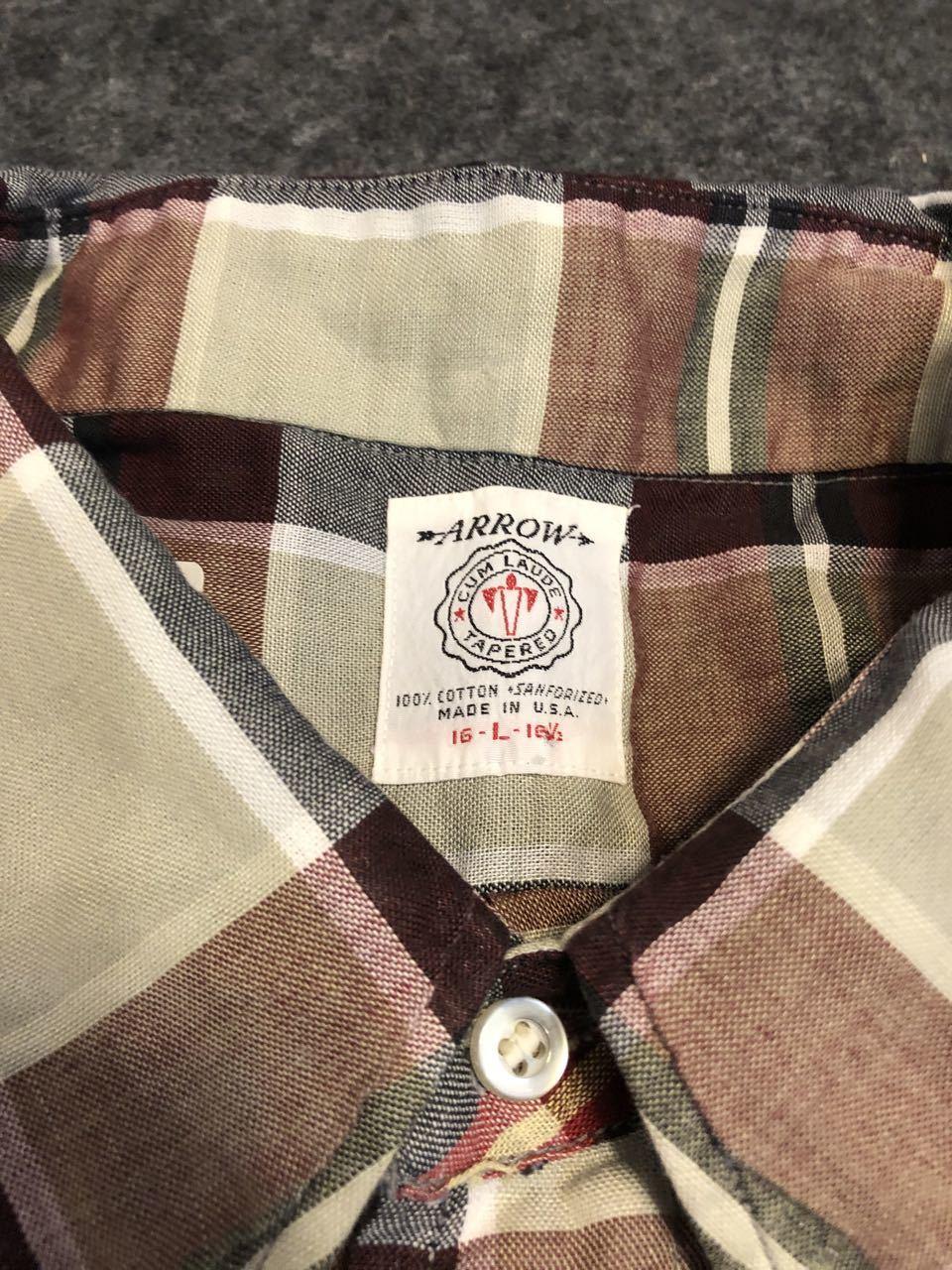 アメリカ仕入れ情報#31 3/14入荷!60s all cotton ARROW  B.D shirts!_c0144020_14202565.jpg