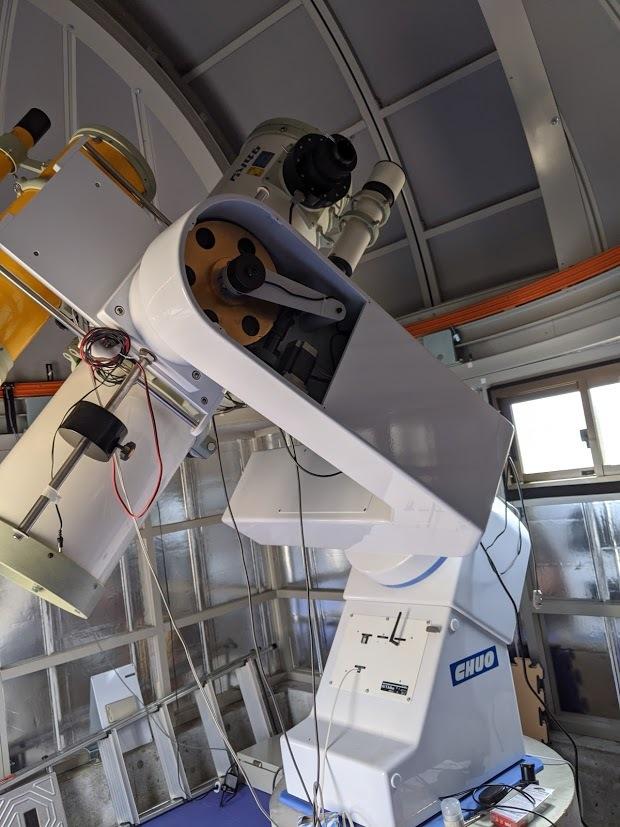 中央光学フォーク赤道儀 自動導入とドームコントローラ改修_c0061727_07394805.jpg