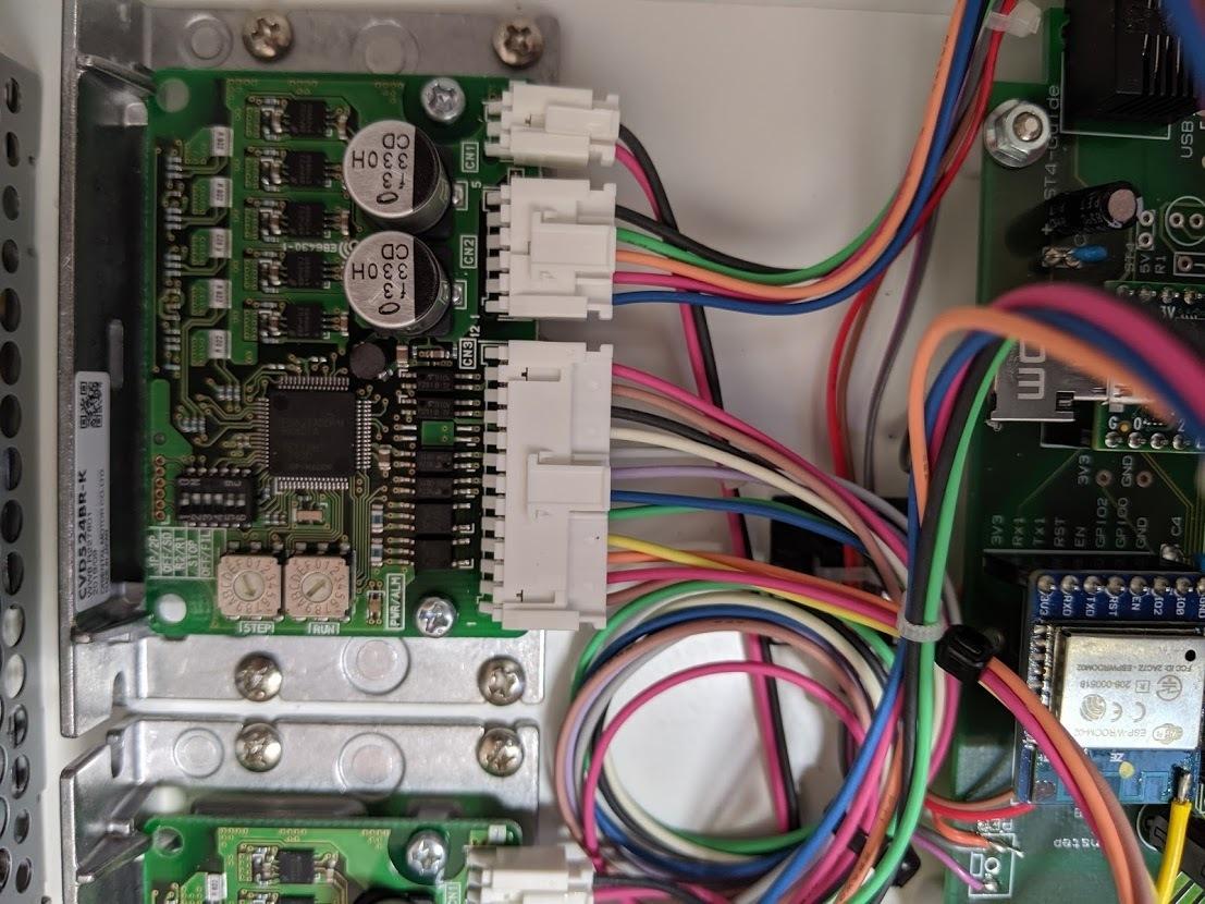 中央光学フォーク赤道儀 自動導入とドームコントローラ改修_c0061727_08023319.jpg