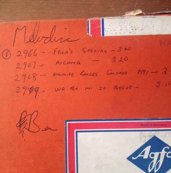 Fela Kuti\'s Very First Recordings_d0010432_14371018.jpg