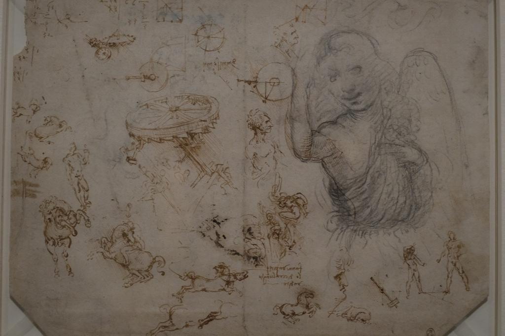 ルーヴル美術館 レオナルドダヴィンチ展 Vol2 観察と分析_f0050534_07351250.jpg