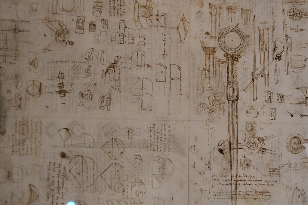 ルーヴル美術館 レオナルドダヴィンチ展 Vol2 観察と分析_f0050534_07351284.jpg
