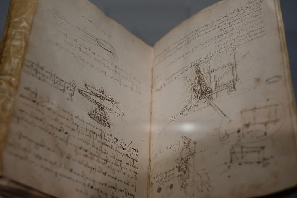 ルーヴル美術館 レオナルドダヴィンチ展 Vol2 観察と分析_f0050534_07352301.jpg