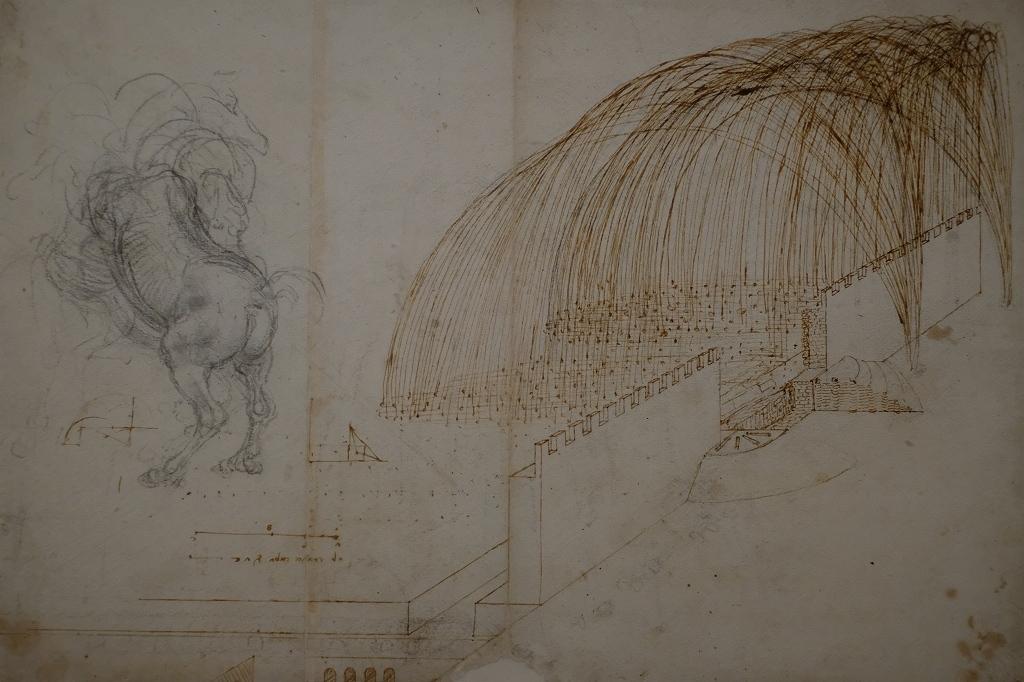ルーヴル美術館 レオナルドダヴィンチ展 Vol2 観察と分析_f0050534_07352819.jpg