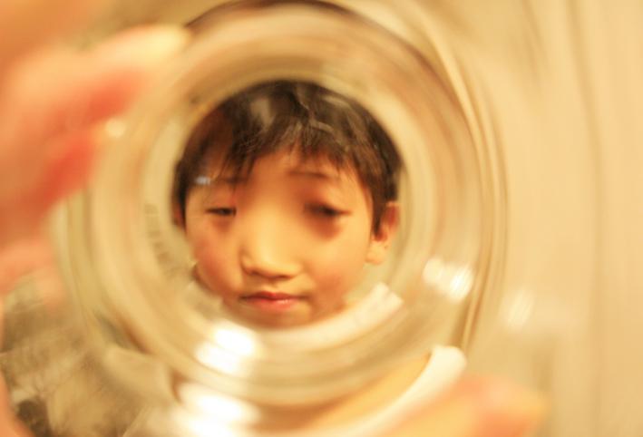 無印良品のスタックグラスで「ゴリラごっこ」_d0351435_10080110.jpg