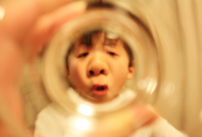 無印良品のスタックグラスで「ゴリラごっこ」_d0351435_10102919.jpg