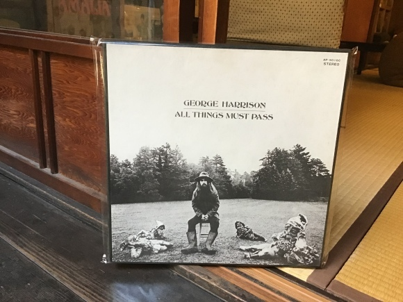 ALL THINGS MUST PASS / GEORGE HARRISON_e0230141_14013060.jpeg