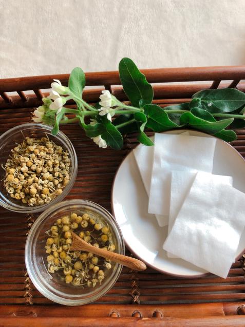 花粉症対策カモミールアイ湿布でまぶたすっきり・サララ 空き状況_f0140145_08545174.jpg