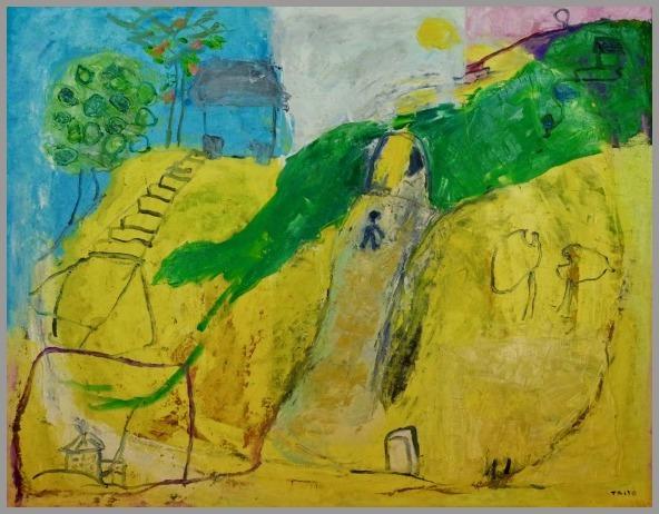 きらり市民ギャラリー 出品予定 田舎の思い出II  F50 2002_a0086270_11464462.jpg