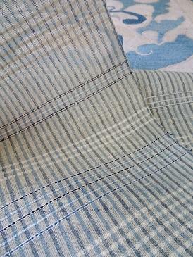 2020『阿波藍とアイボリー』は、透ける九寸帯地が仲間入りです。_f0177373_19210661.jpg