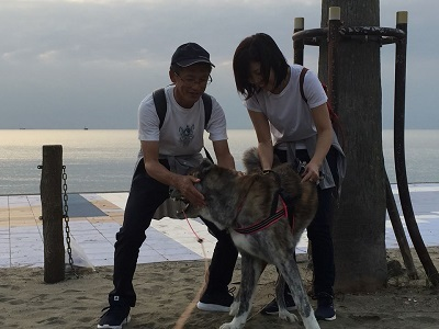 和歌山の海でボランティア&とらおくん~♪_e0123286_18503913.jpg