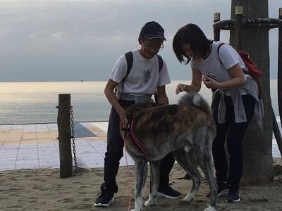 和歌山の海でボランティア&とらおくん~♪_e0123286_18505493.jpg