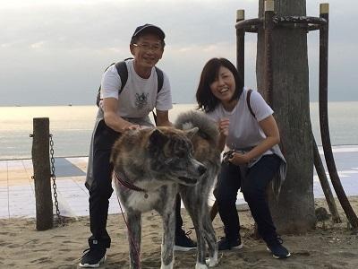 和歌山の海でボランティア&とらおくん~♪_e0123286_18512900.jpg