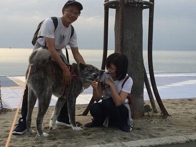 和歌山の海でボランティア&とらおくん~♪_e0123286_18515730.jpg