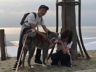 和歌山の海でボランティア&とらおくん~♪_e0123286_18522161.jpg