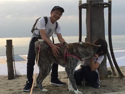 和歌山の海でボランティア&とらおくん~♪_e0123286_18530671.jpg