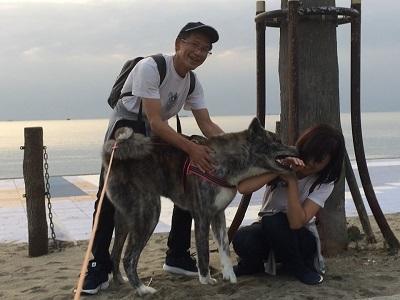 和歌山の海でボランティア&とらおくん~♪_e0123286_18552045.jpg