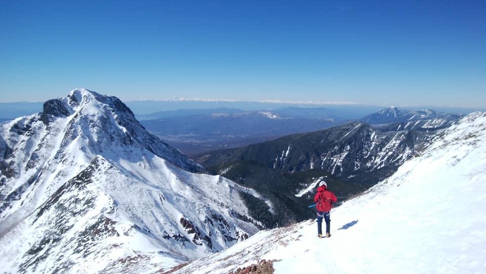 冬季赤岳登山 登山同行_e0231387_19464346.jpg